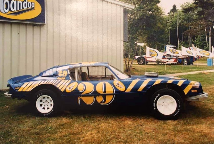 David Peters and Allan MacPhail ran this Chevrolet Camaro in the mid to late 1980s.