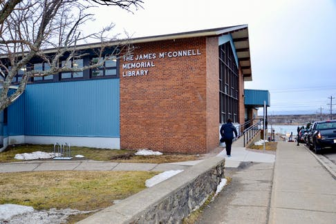 The James McConnell Memorial Library in Sydney serves as headquarters for the Cape Breton Regional Library. Despite widespread support for a new central library, plans to include the project in a Sydney waterfront development have been nixed, at least for now. DAVID JALA/CAPE BRETON POST