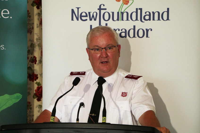 Capt. Tony Brushett, executive director of the Salvation Army Ches Penny Centre of Hope in downtown St. John's. - Glen Whiffen