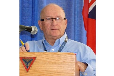 Murray Dunbar is a charter member of the Pictou County Y's Men which started in 1972.