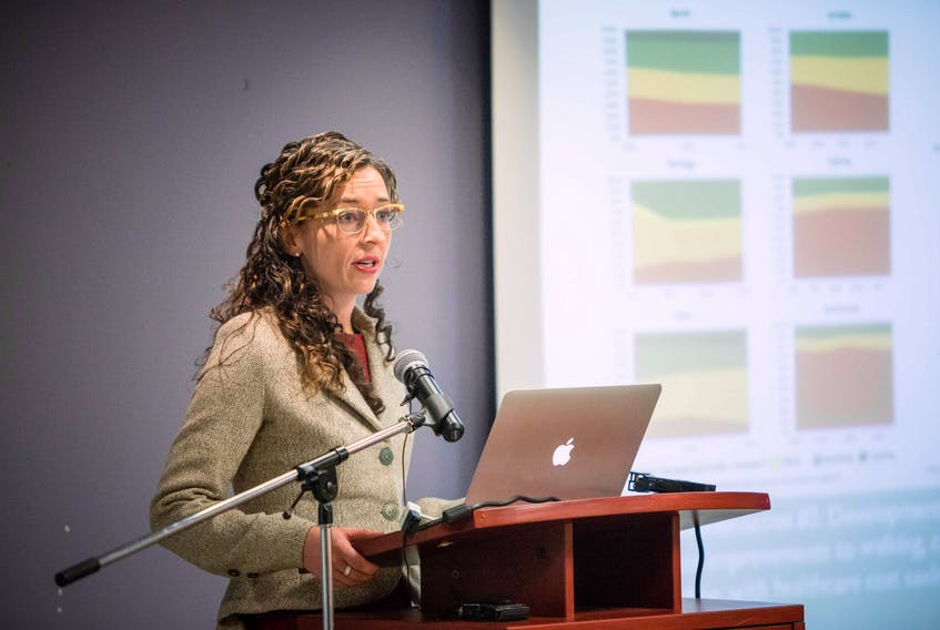Dr. Courtney Howard is a climate-change activist living in Yellowknife. Alex Tétreault • Contributed photo