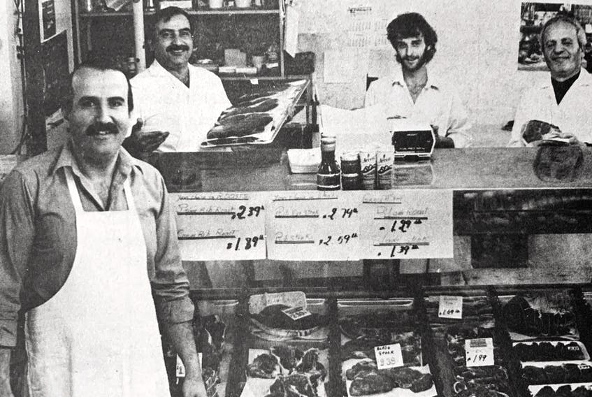 Mike Ruhana, the owner of Curry's Corner Food Mart, celebrated five years in business in 1986. Since opening, he had expanded the store twice.