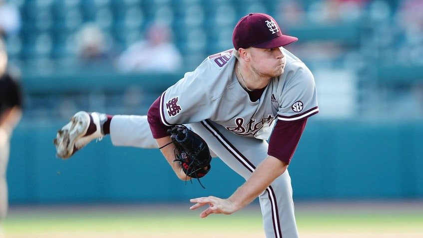 Christian MacLeod is currently ranked No. 113 among prospects for the 2021 MLB Draft. He's the son of Sydney native Kevin MacLeod, who was drafted in the 10th round by the Oakland Athletics in 1987. CONTRIBUTED • MISSISSIPPI STATE UNIVERSITY  - Contributed