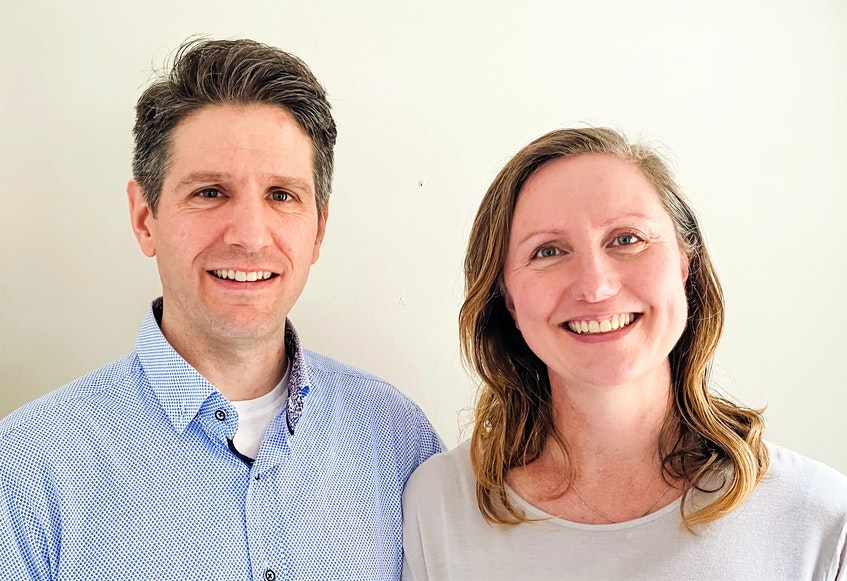 Truro filmmakers John Kennedy and Kate Ward – the creators of Axiom. - Contributed