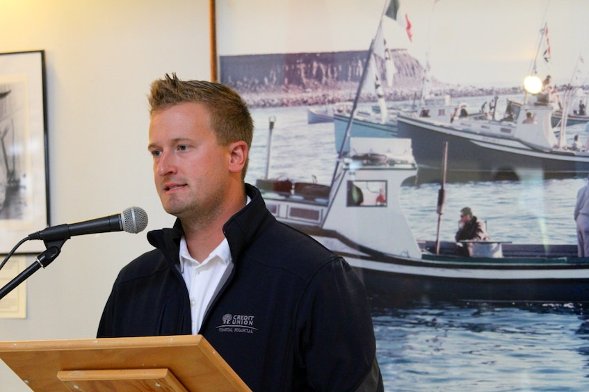 Lucien Leblanc, representing the Wedgeport Harbour Authority, stressed the importance of harbours for fishermen during the funding announcement.CARLA ALLEN • TRICOUNTY VANGUARD - Saltwire network