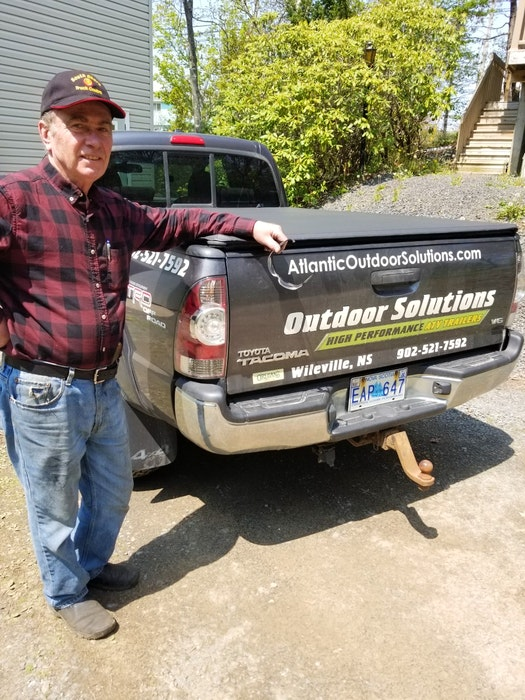 Nova Scotia metalworker Allan Hubley has made a reputation for the off-road ATV trailers and RV accessories he builds. Hubley works alone and markets his products online. - Marilyn Collie
