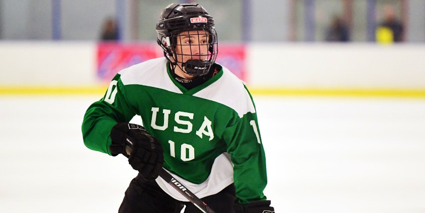 Kurt Gurkan, the Cape Breton Eagles second overall pick at the QMJHL American Draft, has committed to Yale University and the NCAA. CONTRIBUTED • DAN HICKLING - Contributed