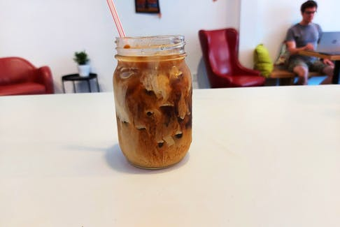 The Village Coffeehouse's iced coffee is a perfect substitute for regular coffee on a hot summer day.- Alice Hartling photo