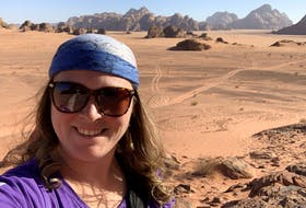 Shari Tucker of Love the Way You Travel in Halifax, is all smiles during a past trip to Jordan. The travel agent believes a travel boom is coming now that COVID numbers are dropping.