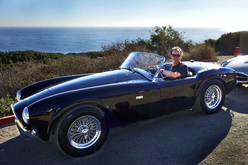 The only car from the late Neil Peart's collection not finished in silver is his 1964 Shelby Cobra 289, Gooding & Company photo - POSTMEDIA