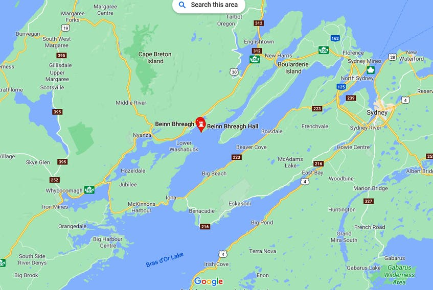 August 1, 2021 - A Whitney Pier man has died in a boating accident in the Bras d'Or lake not far from Beinn Bhreagh.