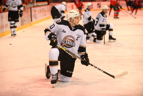 Captain Brett Budgell has been an all-round player for the Charlottetown Islanders, seeing time on the power play, the penalty kill and the team's top line.