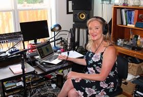 Aside from writing, recording and performing, Colleen Power works at CHMR-FM at Memorial University.