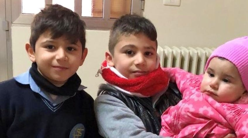Anthony, Charbel, and their sister Teresa talk to their cousin Vicotria Joumaa as often as possible over the phone, but Joumaa says there's only so much she can to support them from miles away. - Contributed