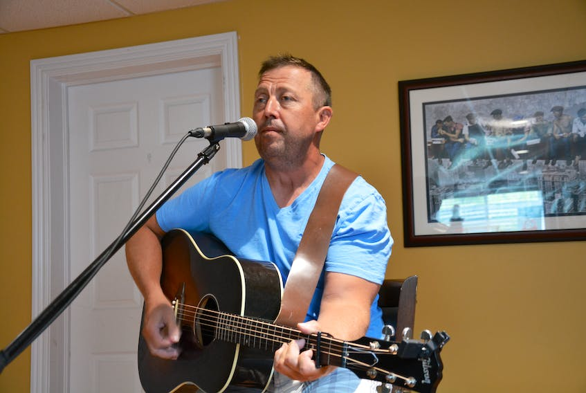 Todd Barteau has been playing music around Conception Bay North for years and is looking forward to the release of his first record.