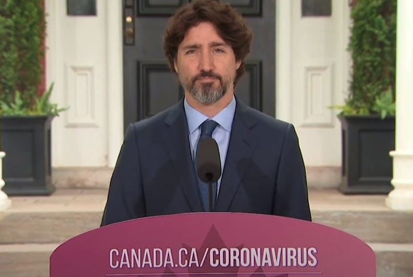 Trudeau Silent - File
