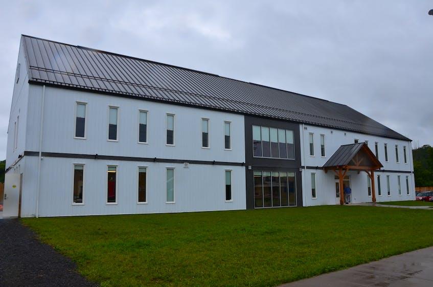 The new Chrysalis House shelter facility on River Street in Kentville. KIRK STARRATT