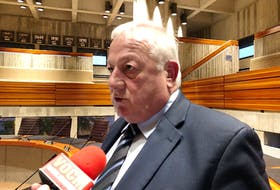 After 16 years of serving on St. John's city council, Ward 5 Coun. Wally Collins has decided it's time to take it a little easier, and he won't seek re-election in next month's municipal elections. TELEGRAM FILE PHOTO
