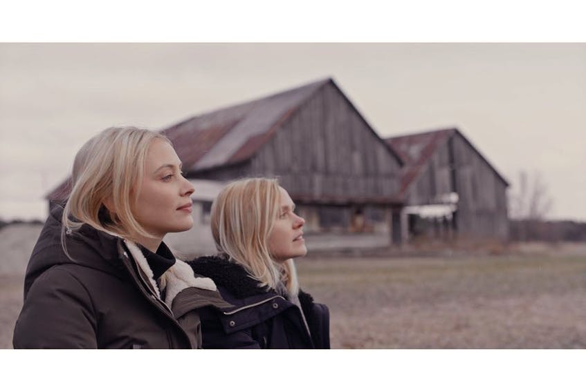 Sarah Gadon and Allison Pill in a scene from All My Puny Sorrows. Courtesy, Calgary International Film Festival.
