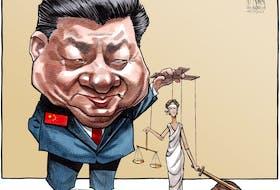 Bruce MacKinnon's cartoon for Aug. 13, 2021.