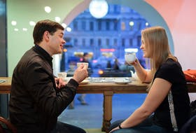 When meeting new potential dates/friends,ask about their past highlights, current interests/hopes, and listen.