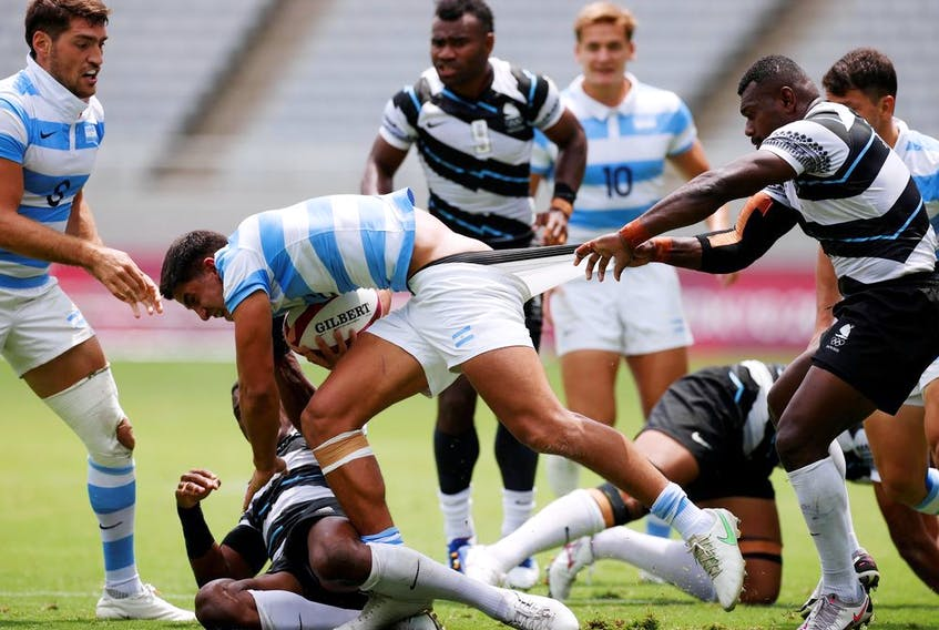 Tokyo 2020 Olympics, Rugby Sevens. Argentina v Fiji. Tokyo, Japan, July 28, 2021.