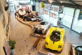 Inside the Pagani Automobili offices in Italy. David Booth/Postmedia News