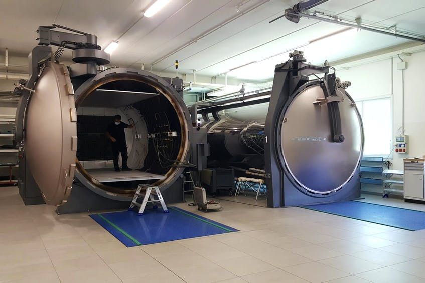 The autoclaves used to bake carbon-fibre at Pagani Automobili. - David Booth