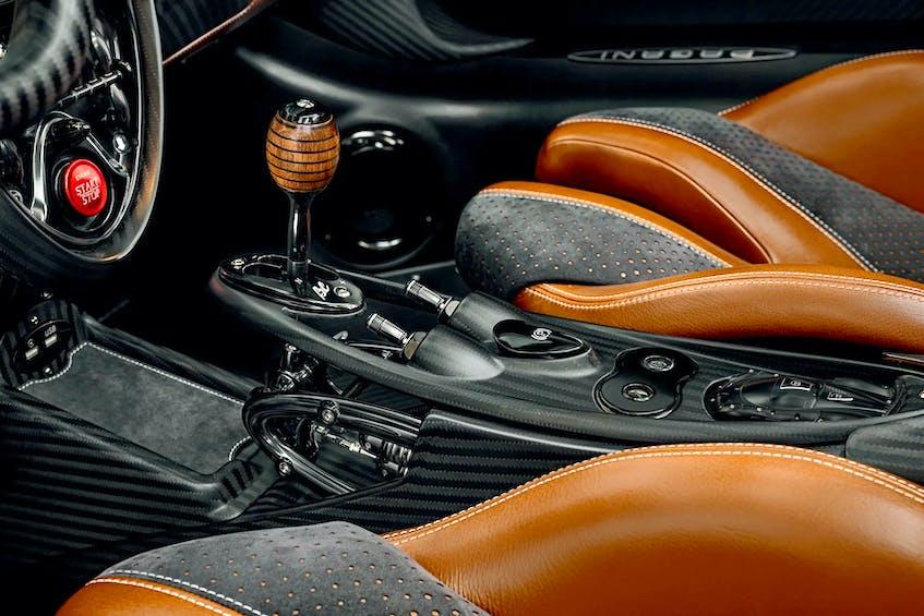 The interior of the Pagani Huayra BC is uncanny. - Pagani Automobili