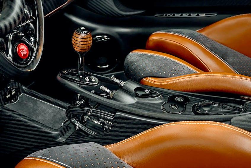 The interior of the Pagani Huayra BC is uncanny. Pagani Automobili phoyo