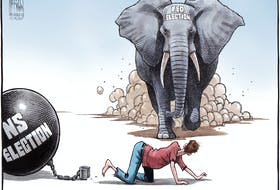 Bruce MacKinnon's cartoon for Aug. 14, 2021.