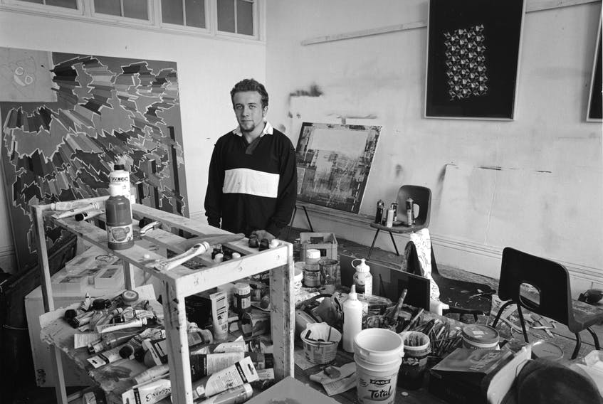 Merryn Tresidder, New Glasgow's artist in residence, will be presenting his exhibit 'Dowr Koll' at the end of August.