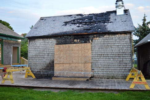Kensington town council recently rescinded an order to demolish the heavily damaged historic James Mullally Blacksmith Shop on 29 Commercial St. The shop, which housed the Go! Fish Eatery, was damaged by a mid-May fire.