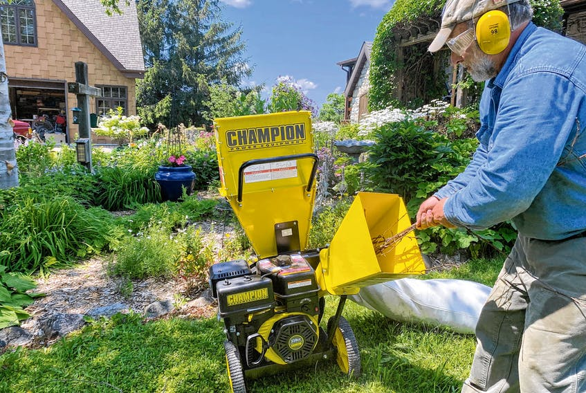 Gas-powered chipper/shredders help close the loop when it comes to garden nutrients and organic matter. It takes less than 10 minutes to create the equivalent of a standard bag of mulch with a chipper.