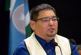 Innu Nation Grand Chief Etienne Rich. Keith Gosse/The Telegram