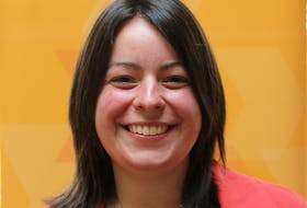 Kendra Coombes is the NDP incumbent for the redrawn riding of Cape Breton Centre-Whitney Pier. CAPE BRETON POST