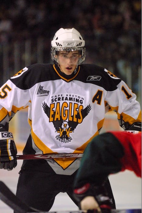 Former Cape Breton Eagle James Sheppard will not return to Germany for the upcoming 2021-22 hockey season. CAPE BRETON POST PHOTO. - SaltWire Network File Photo
