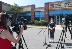 Media talk with Naomi Shelton, Director, Policy and Communications, Elections Nova Scotia Monday morning. Two empty ballot boxes and some laptops were stolen sometime Sunday evening from the Clayton Park West Returning Office.
