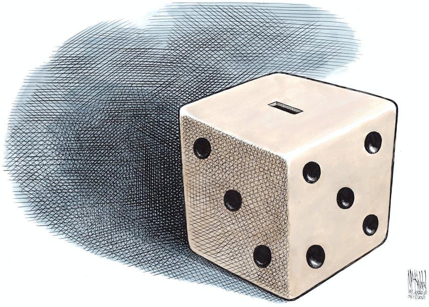 Bruce MacKinnon's cartoon for Aug. 17, 2021. - Bruce MacKinnon