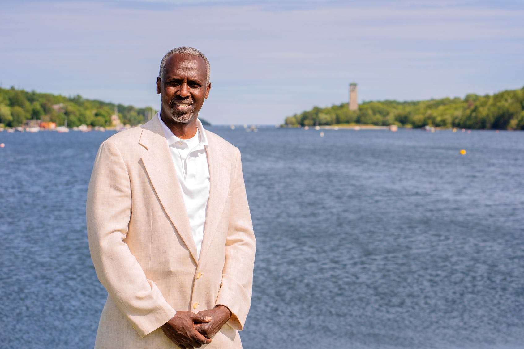 Ali Duale, the Liberal candidate for Halifax Armdale, said he is running in the election to give back to people in Nova Scotia who have always been friendly and supportive. - Contributed by Zahed Hoseyni.