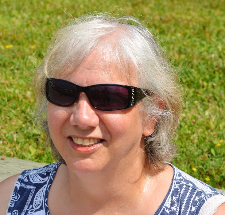 Cindy Pearo of Alder Point remains undecided who to vote for on Tuesday. — IAN NATHANSON/CAPE BRETON POST - Ian Nathanson