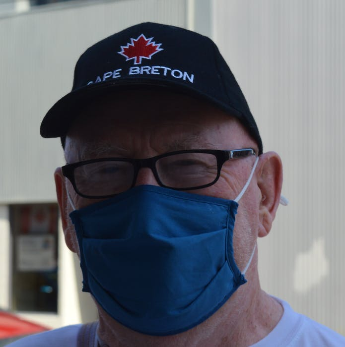 John MacNeil says Iain Rankin and the Liberals have handled the COVID-19 pandemic in Nova Scotia well and hopes they will follow through on health-care promises. — IAN NATHANSON/CAPE BRETON POST - Ian Nathanson