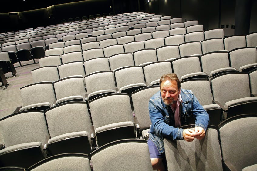 Neptune Theatre artistic director Jeremy Webb is looking forward to seeing theatregoers back in Fountain Hall when it begins Act One of its first season since the start of the pandemic. - Tim Krochak