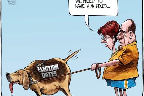Bruce MacKinnon's cartoon for Aug. 18, 2021.