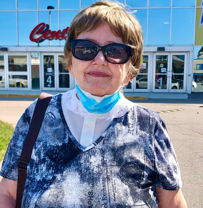 Virginia Sutherland is concerned about COVID-19. - Nicole Sullivan