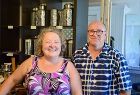 """Cindy and Steve Walker moved from Ingersoll, Ont. to Cape Breton Island, a place they say has been their unofficial """"second home"""" for the past 18 years. DAVID JALA • CAPE BRETON POST"""
