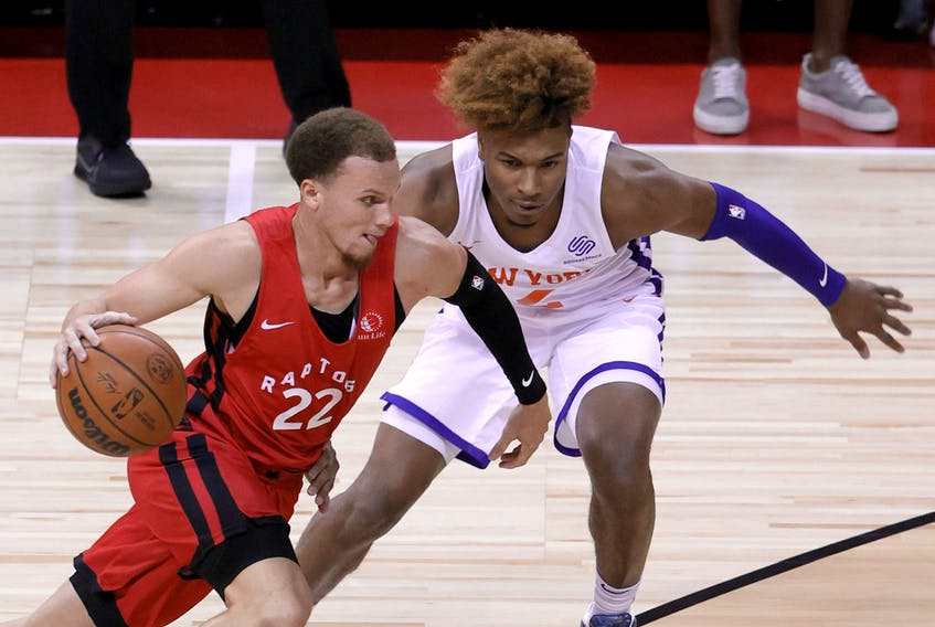 Toronto Raptors' Malachi Flynn was one of the best players at Summer League.