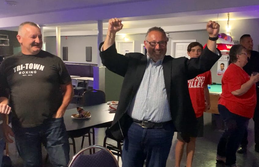 Northside-Westmount candidate Fred Tilley was one of the election night's biggest surprises with his win over PC incumbent Murray Ryan. - Ian Nathanson