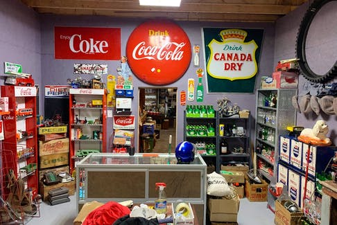 What would an antique store be without Coca Cola memorabilia?