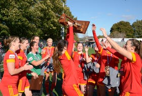 The Holy Cross Kirby Group Crusaders have lifted the Breen's Jubilee Trophy as Newfoundland and Labrador senior women's soccer champions for five straight years. — File photo